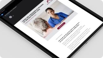 employer branding materials for nursing recruiters