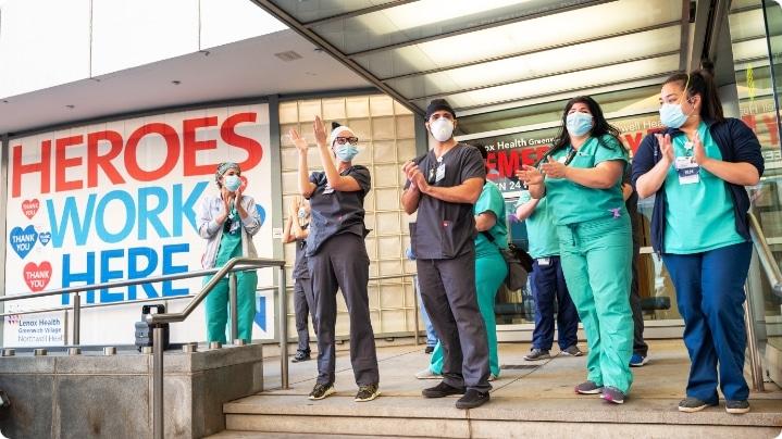 nurses clapping how to recruit nurses
