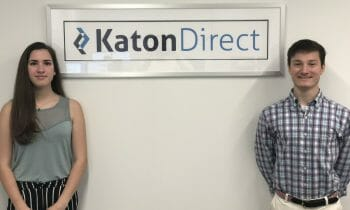 Katon Direct Welcomes Summer Interns from Greenwich High School